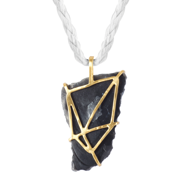 Aida Rock Necklace   Saloukee