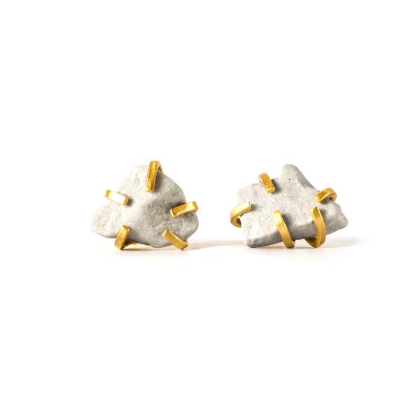 Gudrun Rock Earrings_Colour - Rough Diamond_Top.jpg
