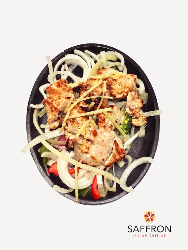 Ginger Chicken   Saffron Indian Restaurant