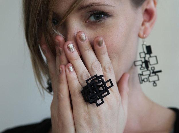 Melissa Borrell Design | Open Square Ring
