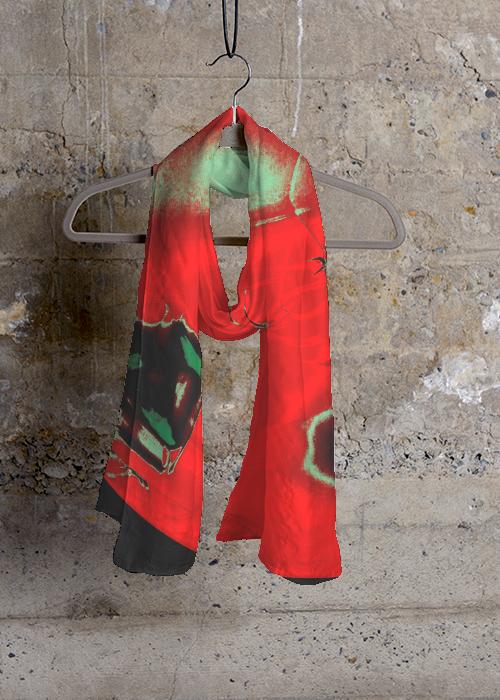 ORIENTAL DELIGHT  Cashmere Silk Scarf $80.00, Vida.com