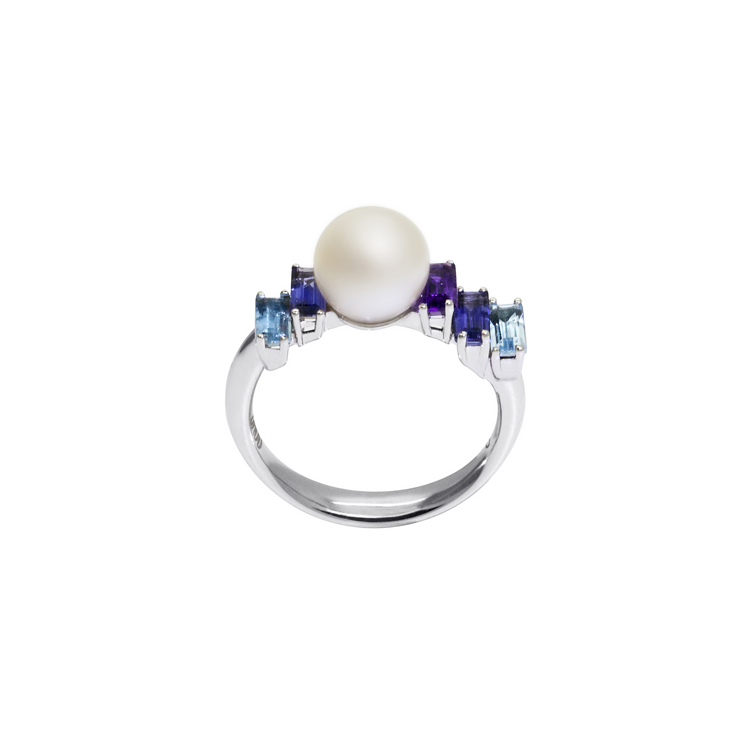 Pearl Morning Light Ring Daou Jewellery £1560 White Gold 18k Pearl and gemstones.jpg