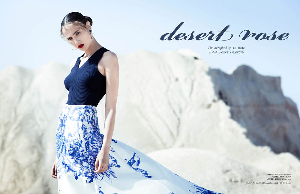 Desert Rose // Heaven Has Heels