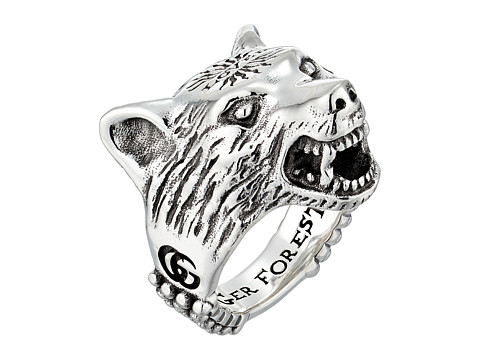 Gucci Anger Forest Wolf ring $500.00, Luxury.Zappos.com