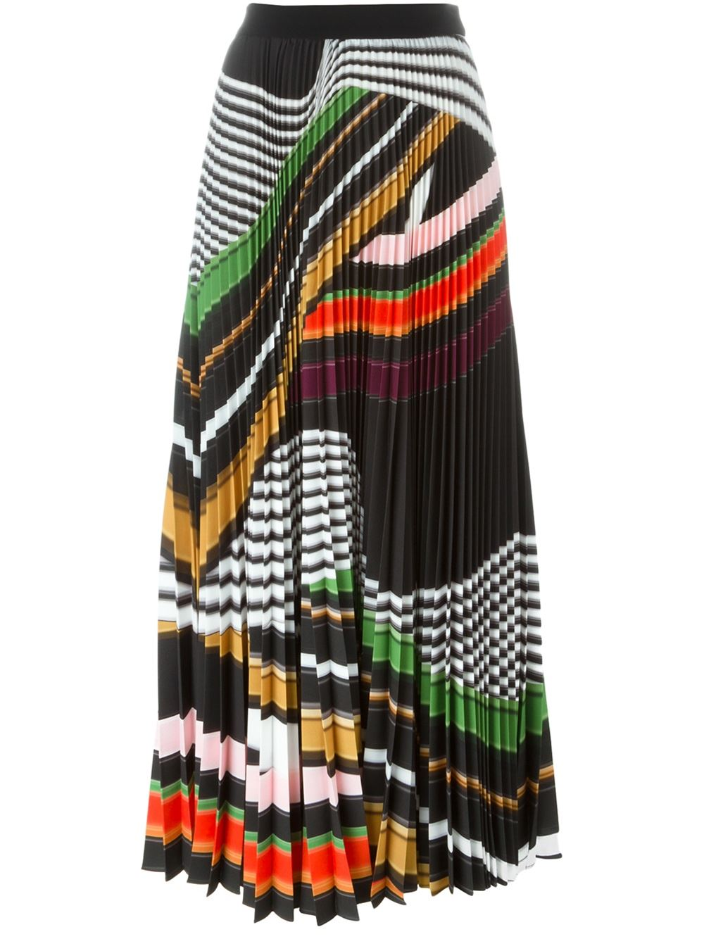 MARY KATRANTZOU 'Pelar' pleated maxi skirt, FarFetch.com