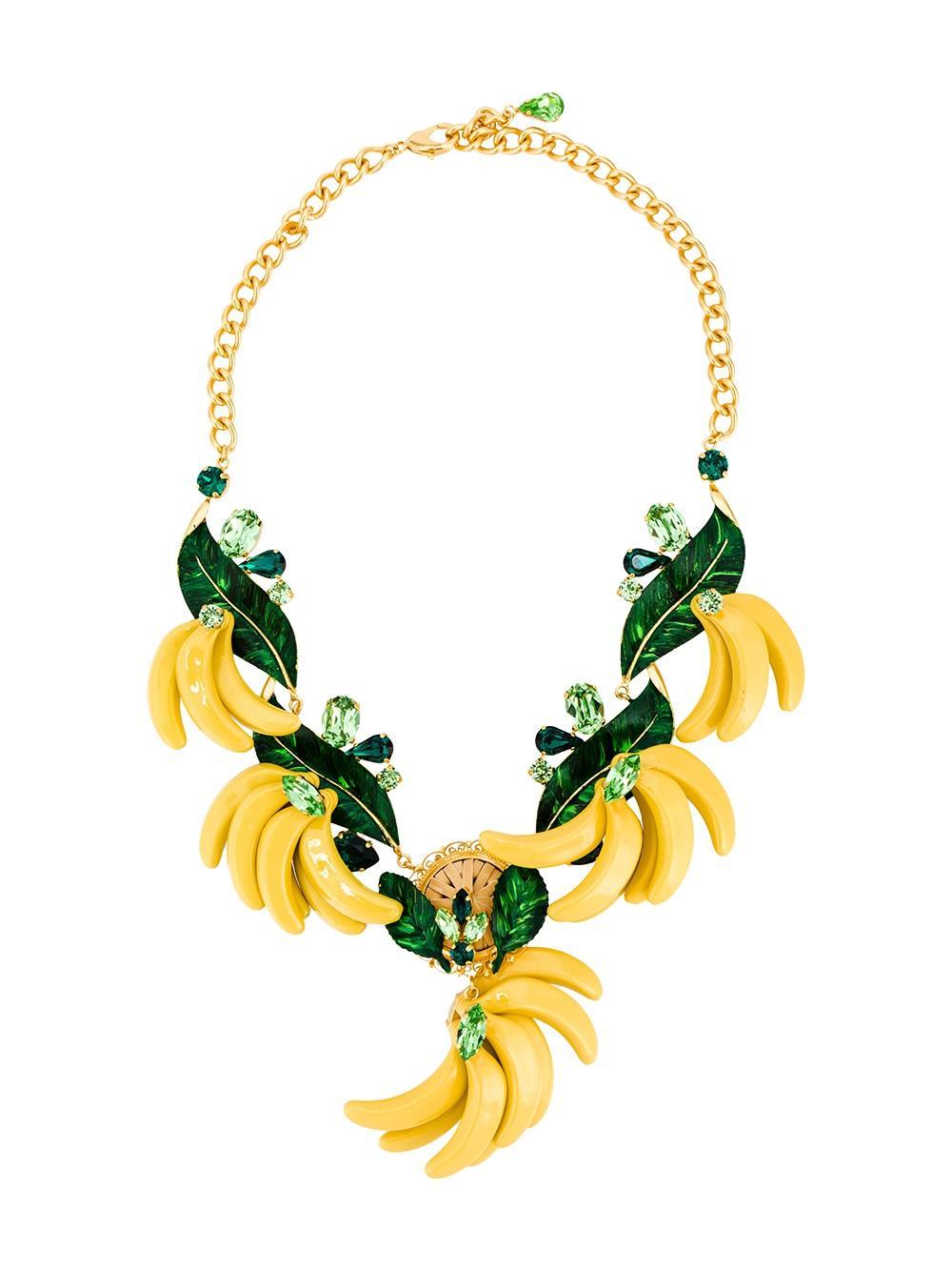 DOLCE & GABBANA Banana necklace, FarFetch.com