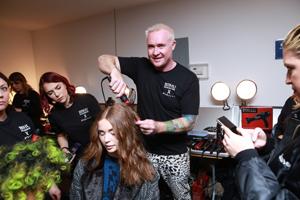 FHI Heat's Artistic Director and Key Hair Artist Sean James