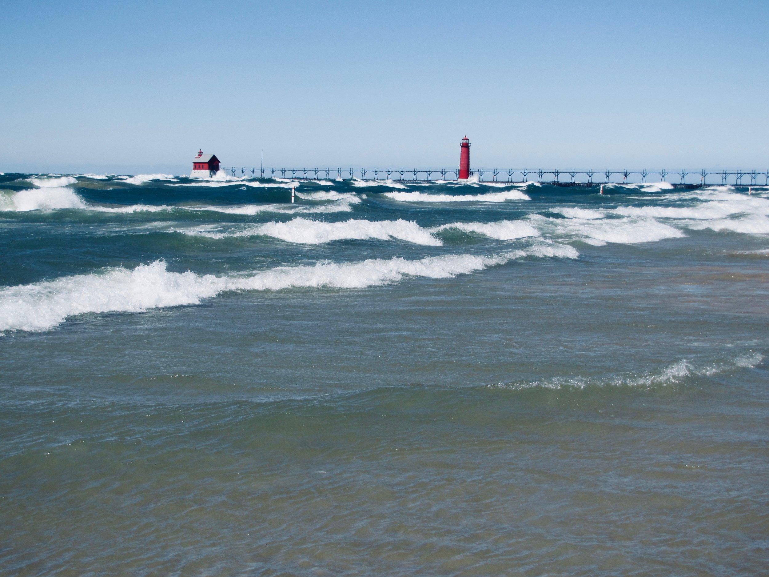 Lake Michigan, Grand Haven MI