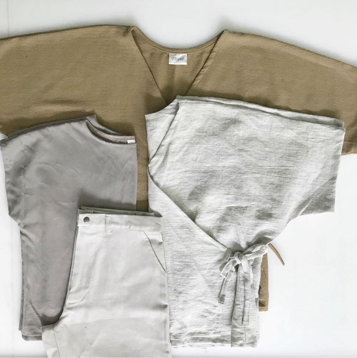 We've designed our latest collection in durable, long-lasting fabrics and neutral colors to help your wardrobe stay in style and in your closet.