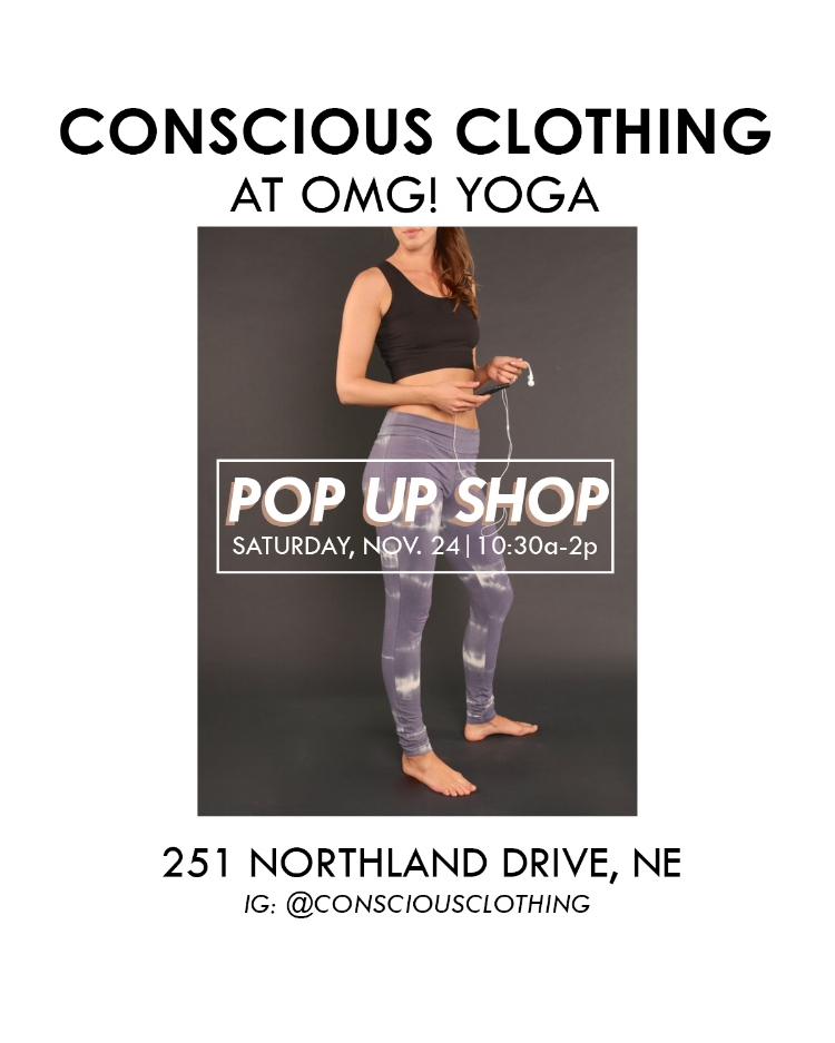Conscious Clothing Pop-up