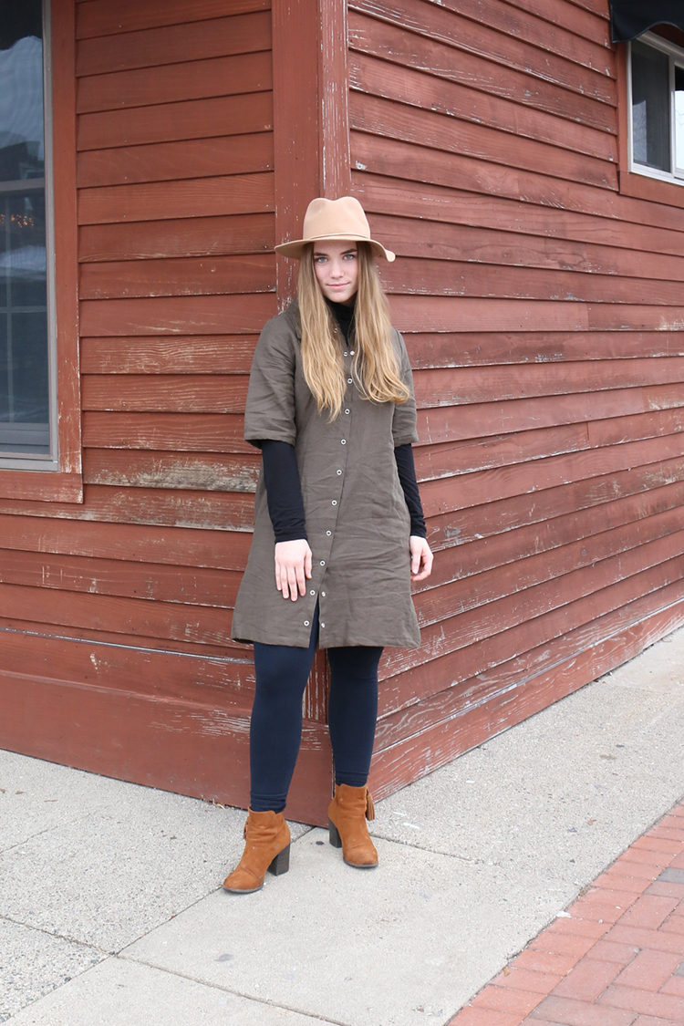 How To Wear Linen for Winter