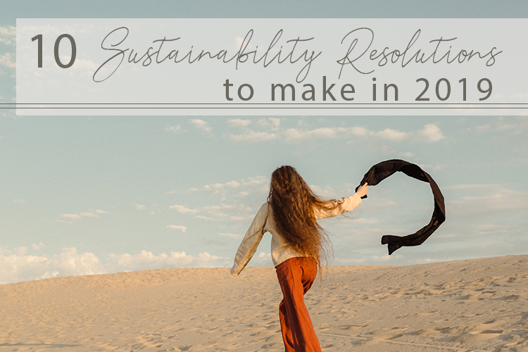 10 Sustainability Resolutions to Make for the New Year
