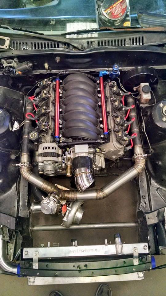 Interested in putting an LSx with a little forced induction into an FC RX7? Yep, we have done that too.