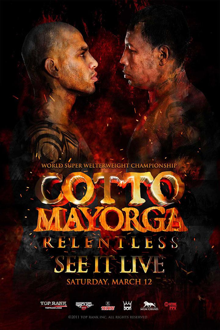 Cotto Mayorga Poster