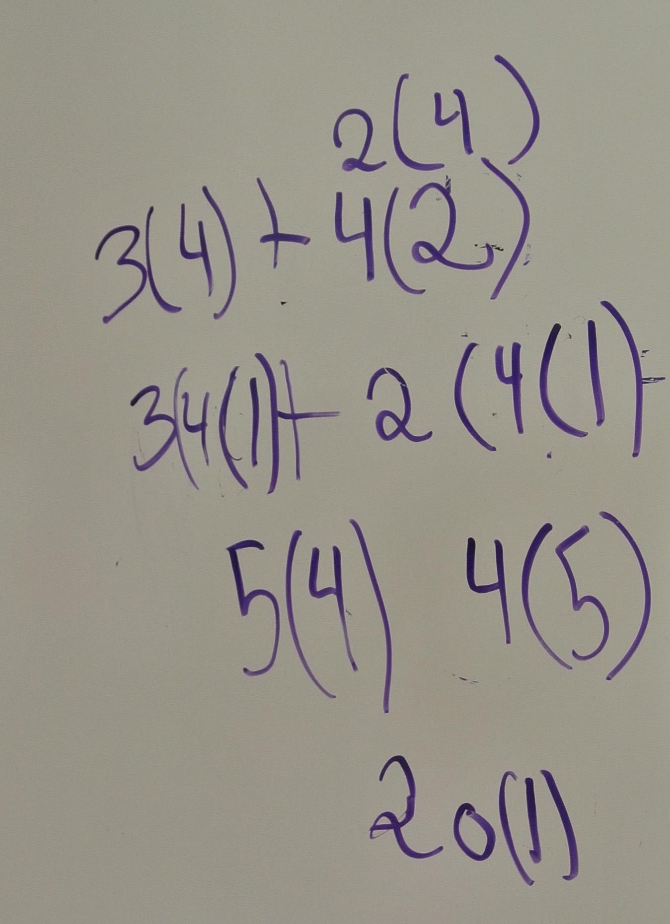 Using Commutative Property to Create Like Terms
