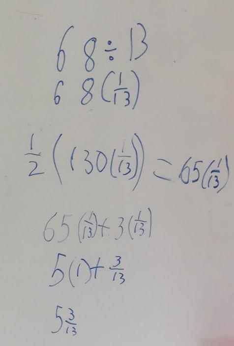 Understanding Definition of Division