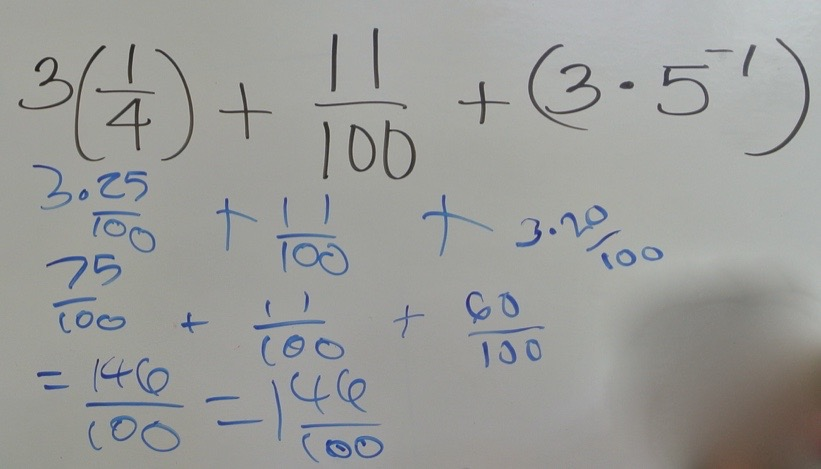 Creating Like Terms with Fractions