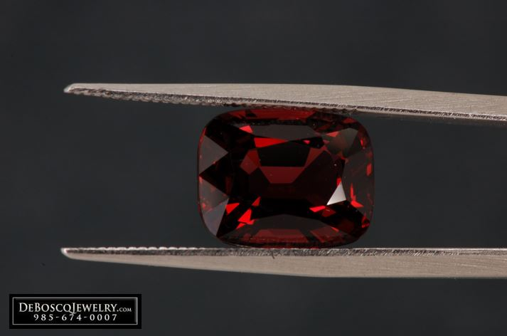 Red Spinel Cushion Diamond Brokerage Jewelry Store Jewelry Repair Wholesale Diamonds Mandeville La