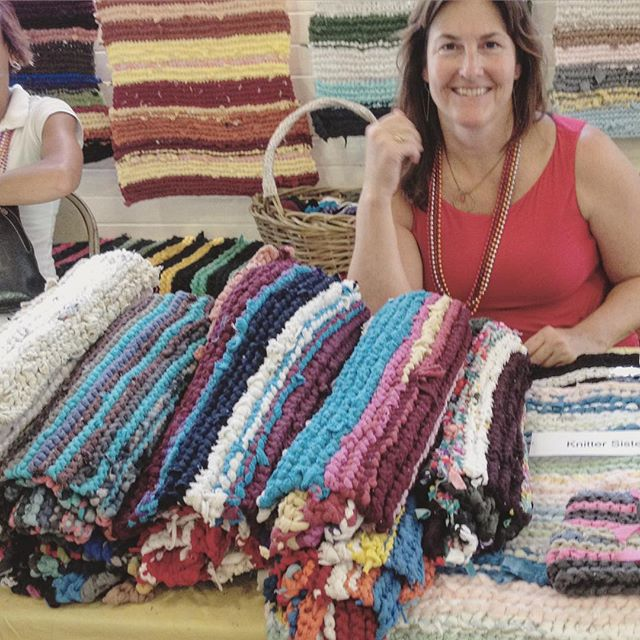 This Saturday at the Point Reyes Farmer's Market Edition Local Booth: Annie Susnow and the Knitter Sisters. The market is 7/16 from 9am to 1pm at Toby's. See you there!