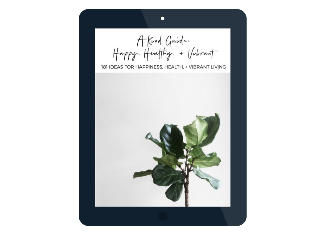 A Kind Guide | Happy, Healthy, Vibrant | akindjourney.com #TheKindBrands