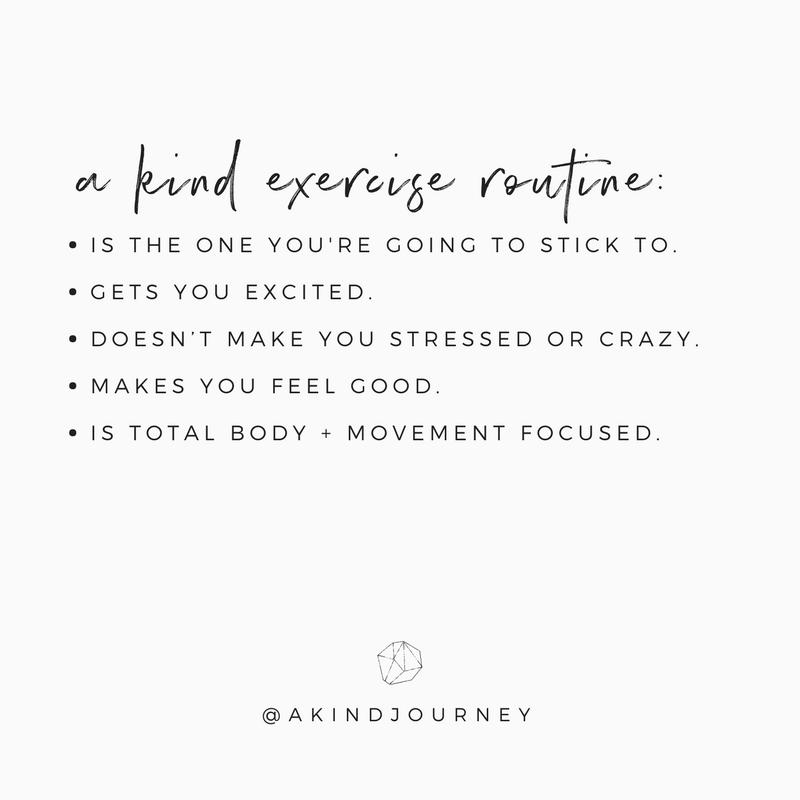 The Best Diet + Exercise Advice Ever   akindjourney.com #TheKindBrands #KindWellness