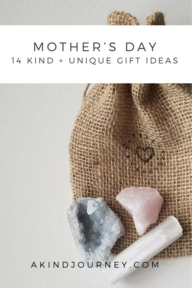 14 Kind + Unique Gift Ideas For Mother's Day | akindjourney.com #TheKindBrands | Mother's Day Gift Ideas