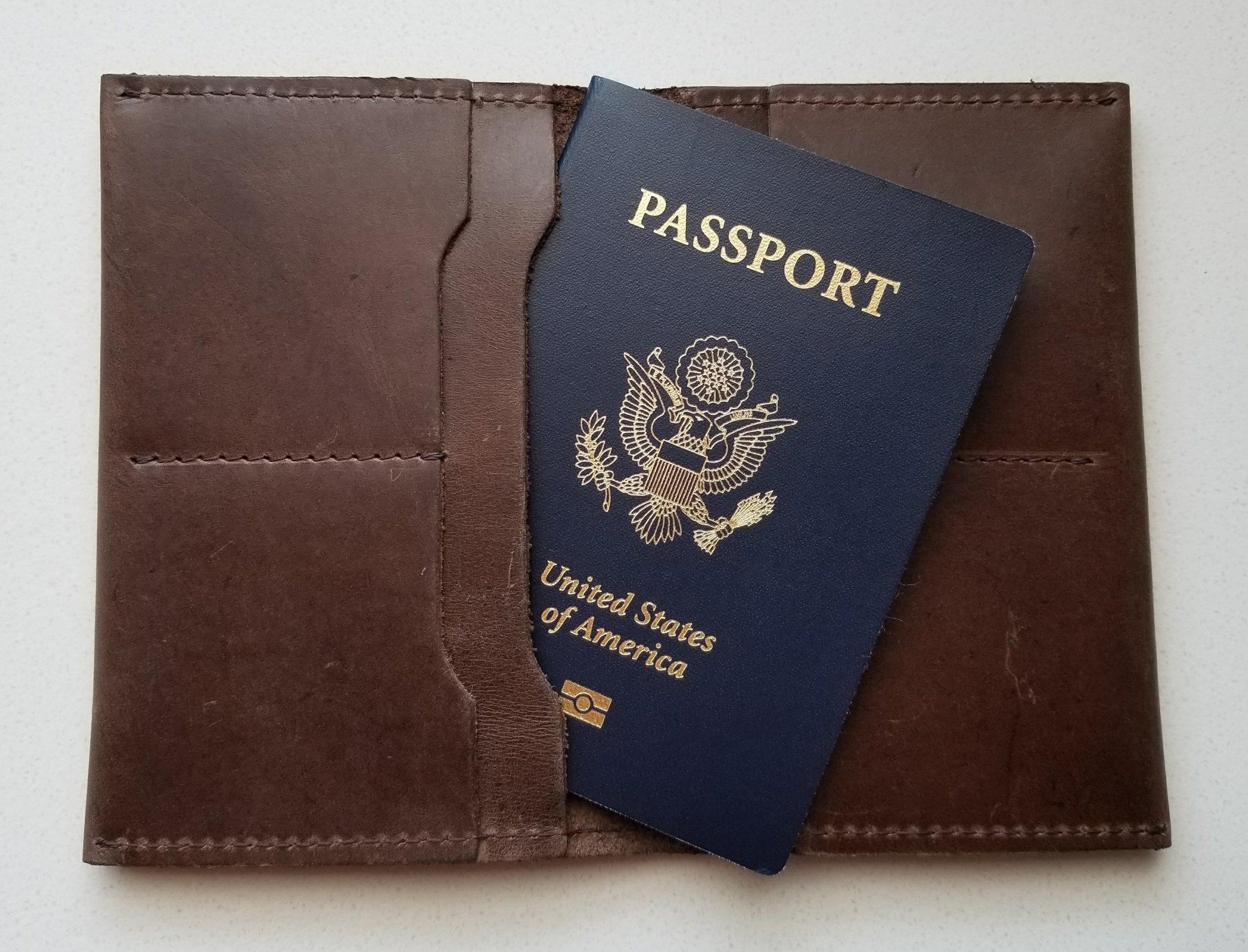 Eyerusalem Passport Wallet in Black | Kind Gift Guide For Him akindjourney.com