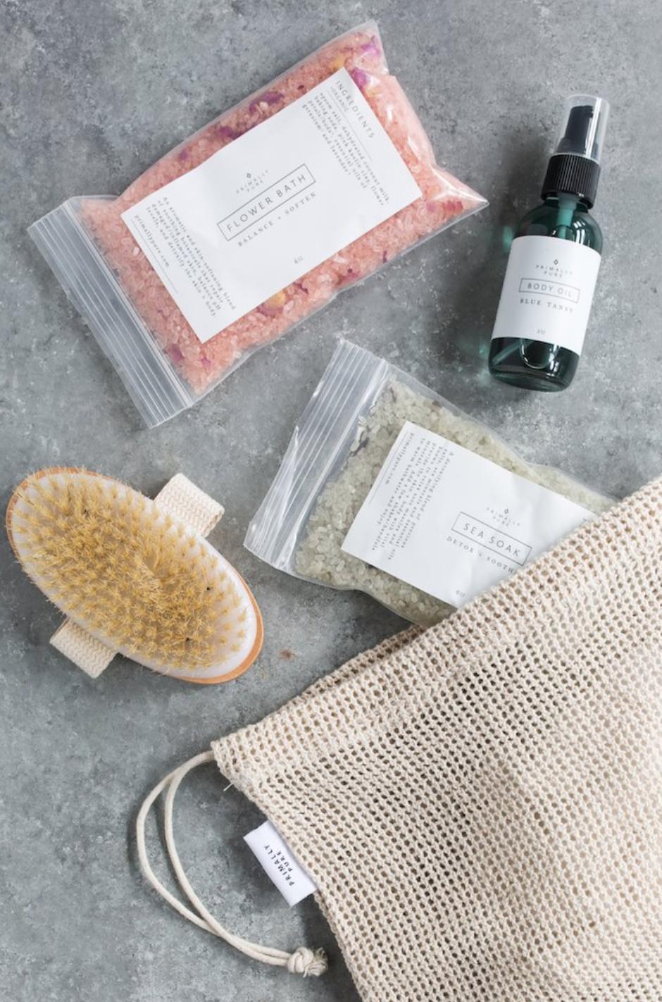 Primally Pure Spa Kit | Kind Gift Guide akindjourney.com