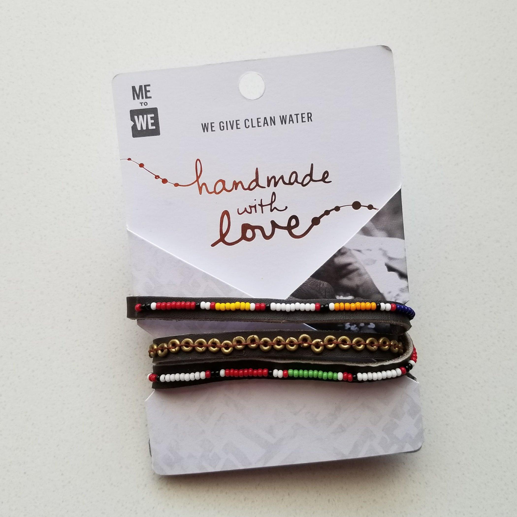 A Kind Boutique Tatu Brass Three Wrap Bracelet | Kind Gift Guide akindjourney.com
