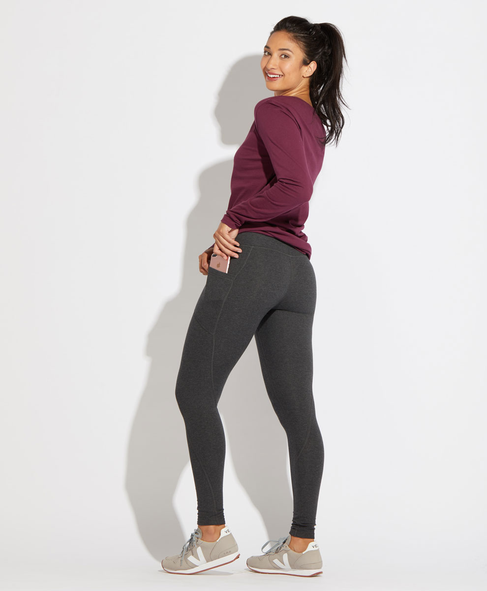 Wear Pact Pocket Terry Legging | Kind Gift Guide akindjourney.com