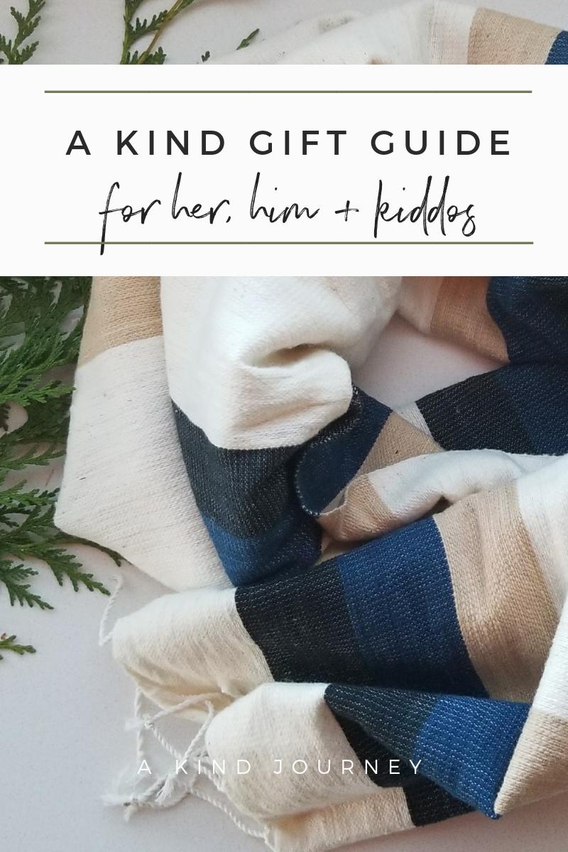 Ethical + Kind Gift Guide | akindjourney.com