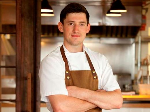 Chef Blaine Wetzel of the Willows Inn