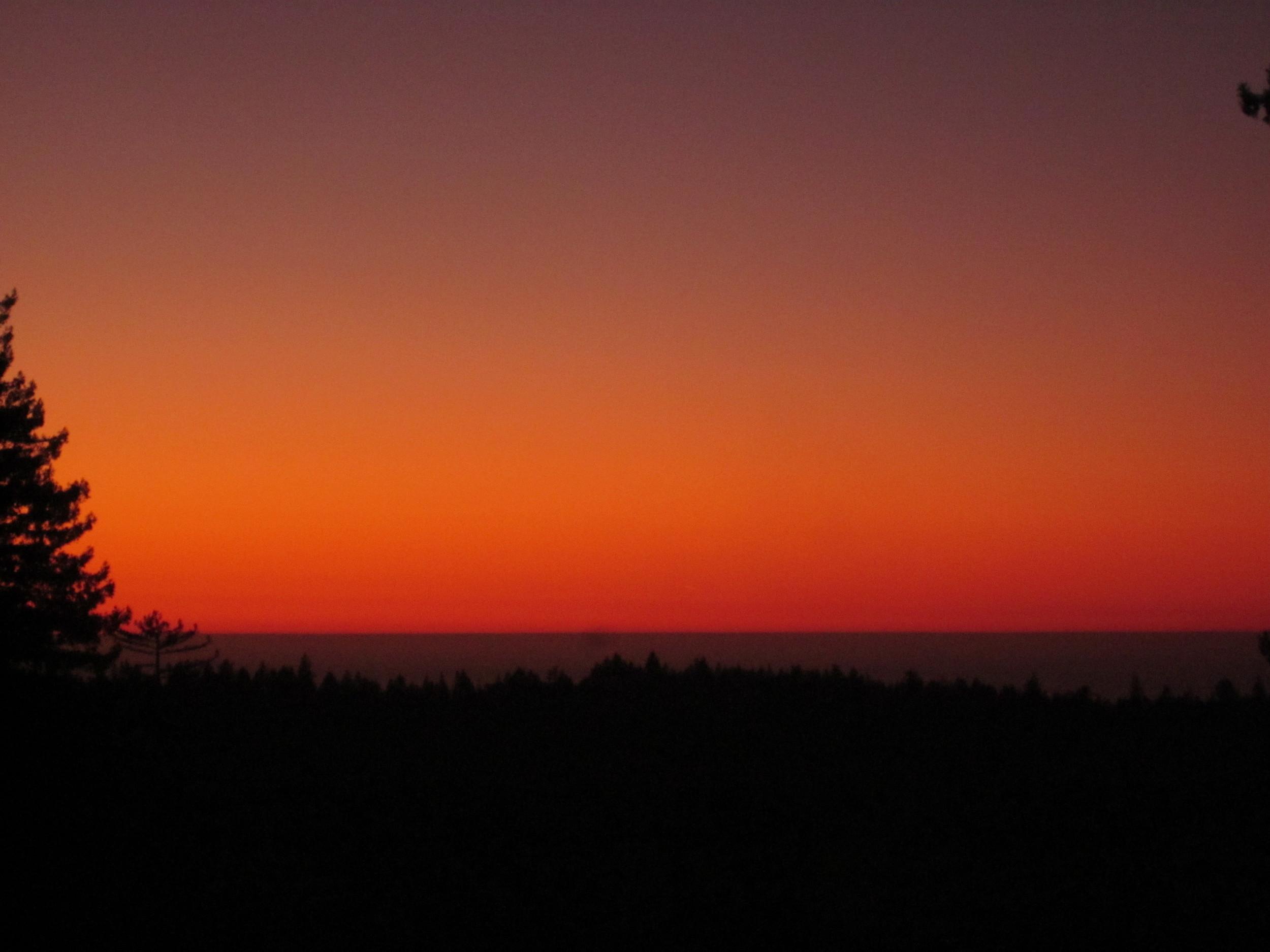 Sunset at Hirsch