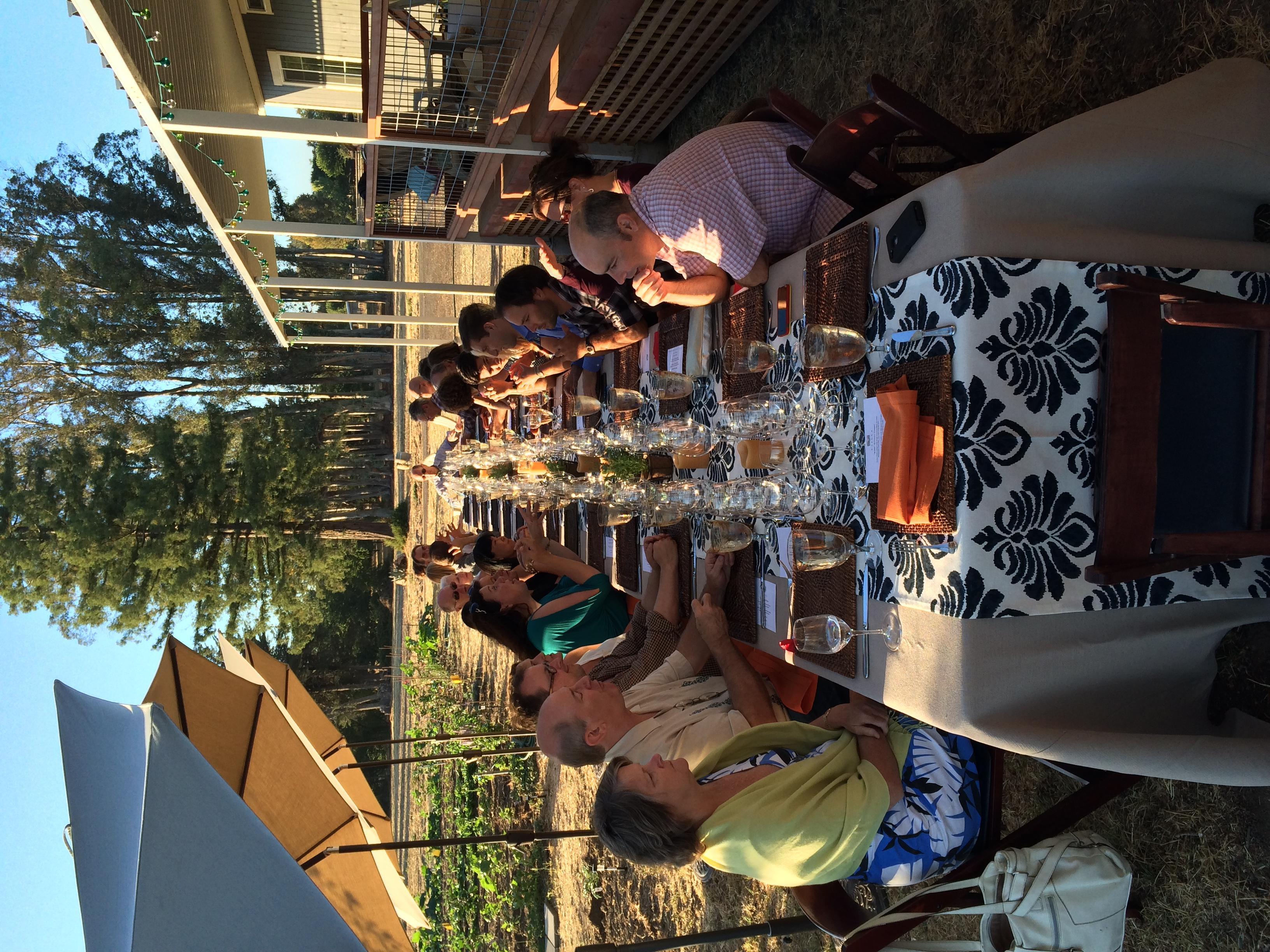 Elegant dinner party, WOW 2014
