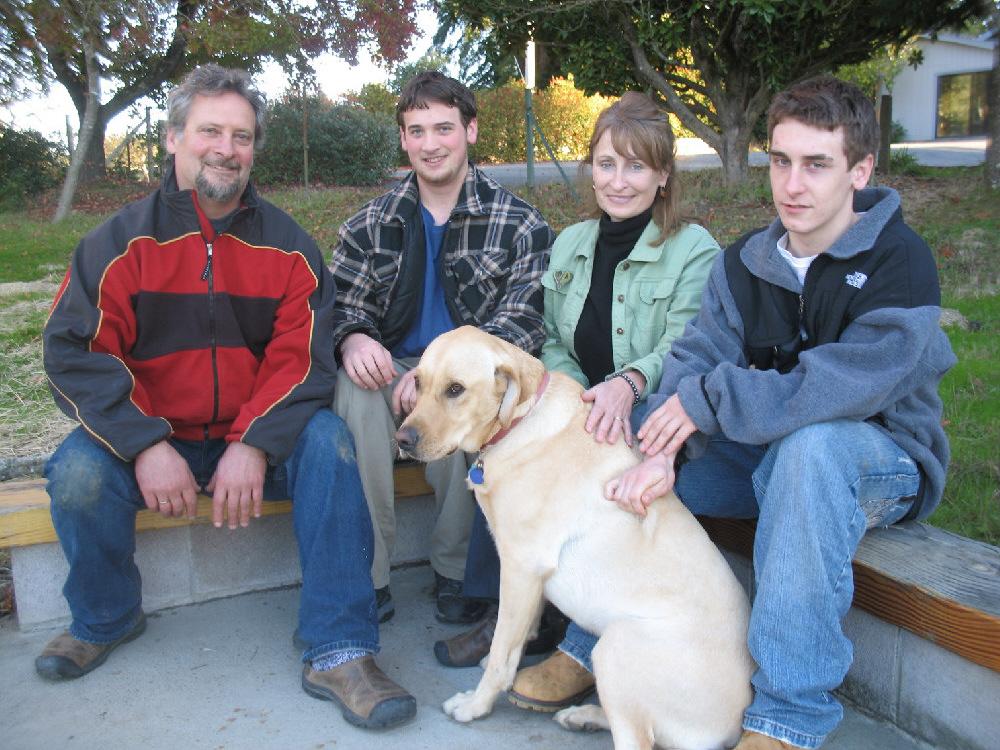 The Farming Family of  Occidental Ridge Vineyard