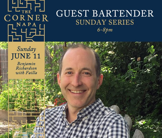 Join Benjamin Richardson this Sunday June 11th at The Corner Napa!