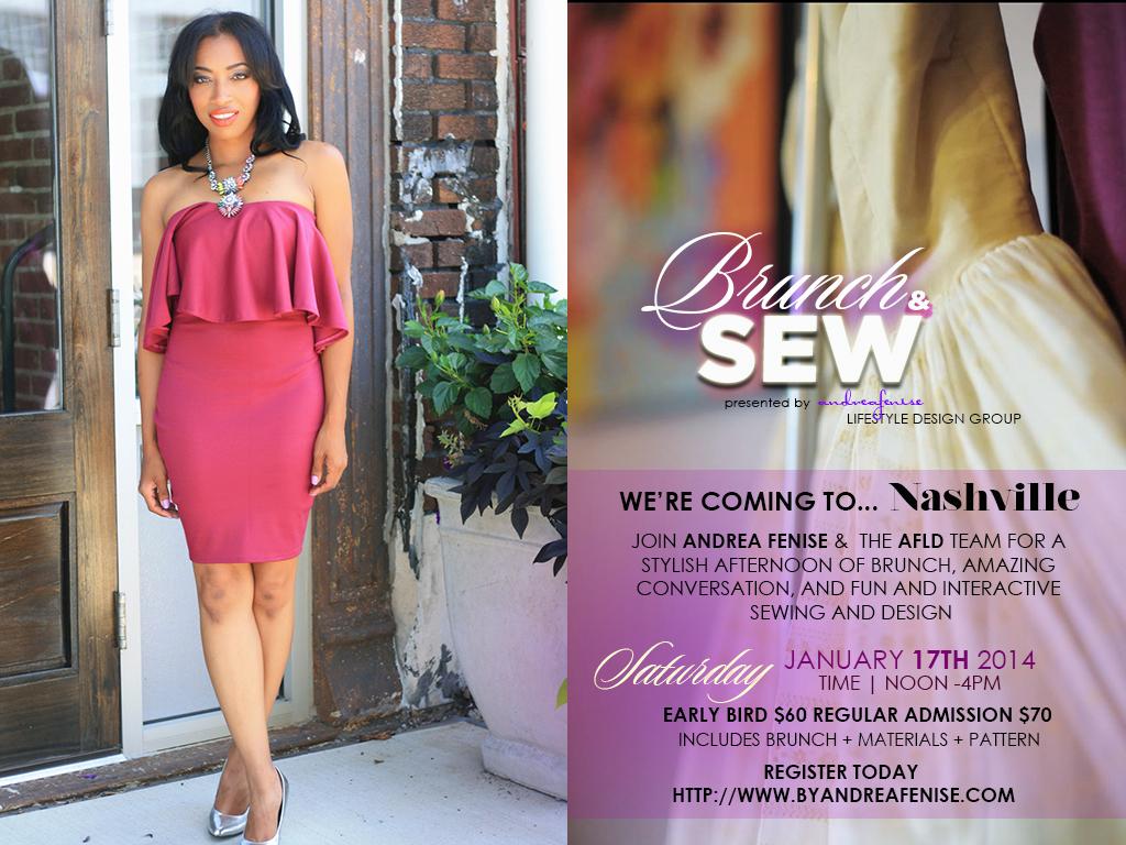Andrea Fenise Brunch and Sew Nashville