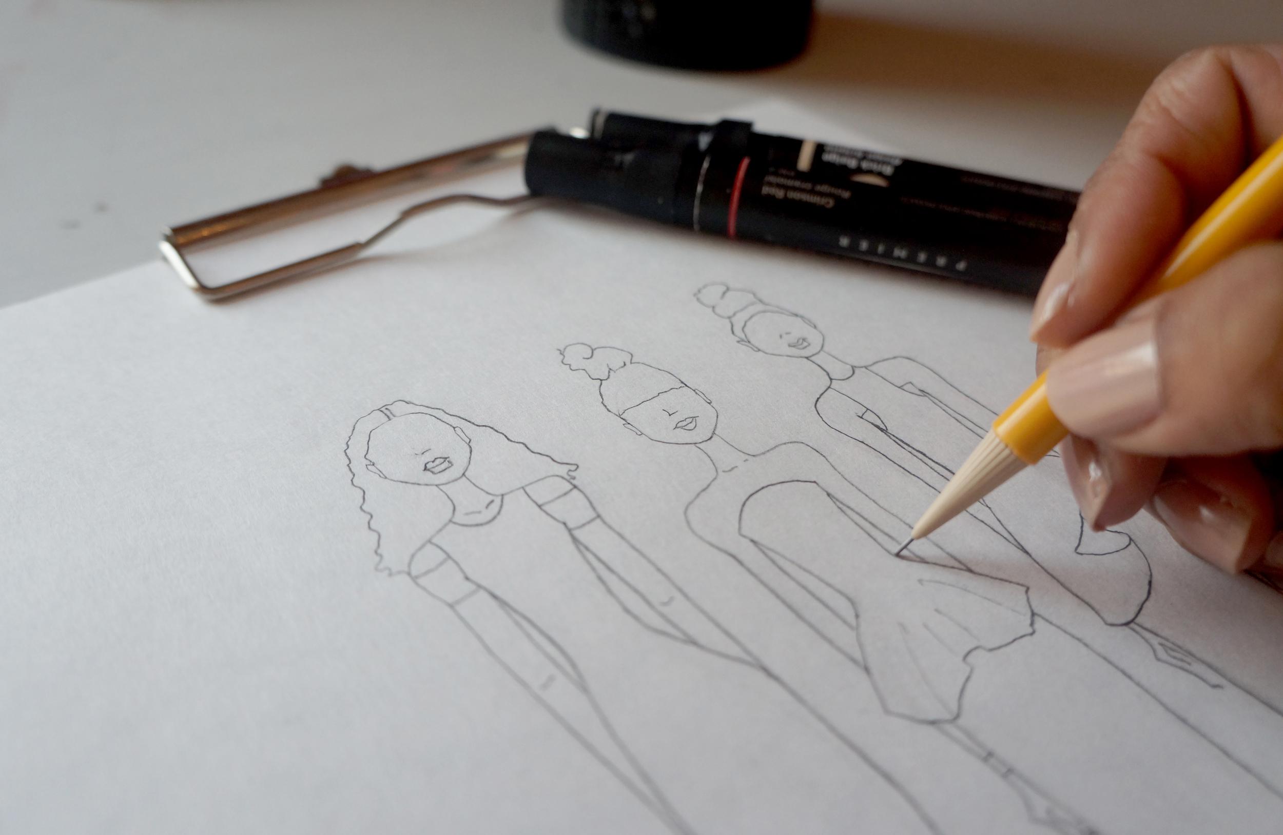 Andrea-Fenise-Sketch-Weekend