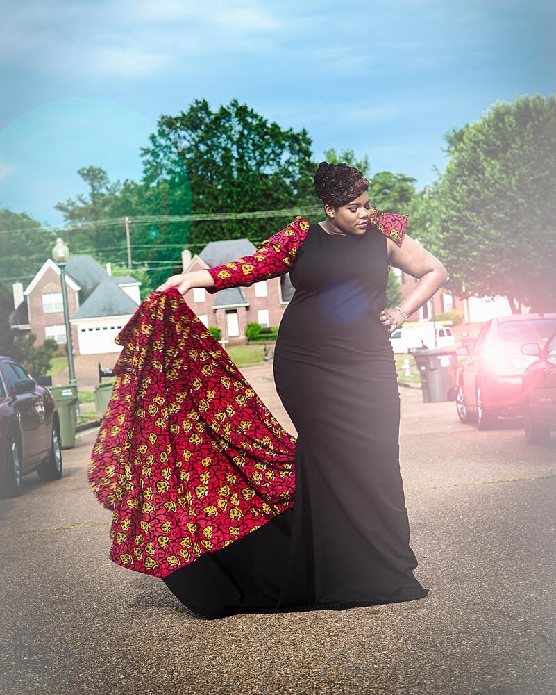 Andrea-Fenise-Ankara-Prom-Dress