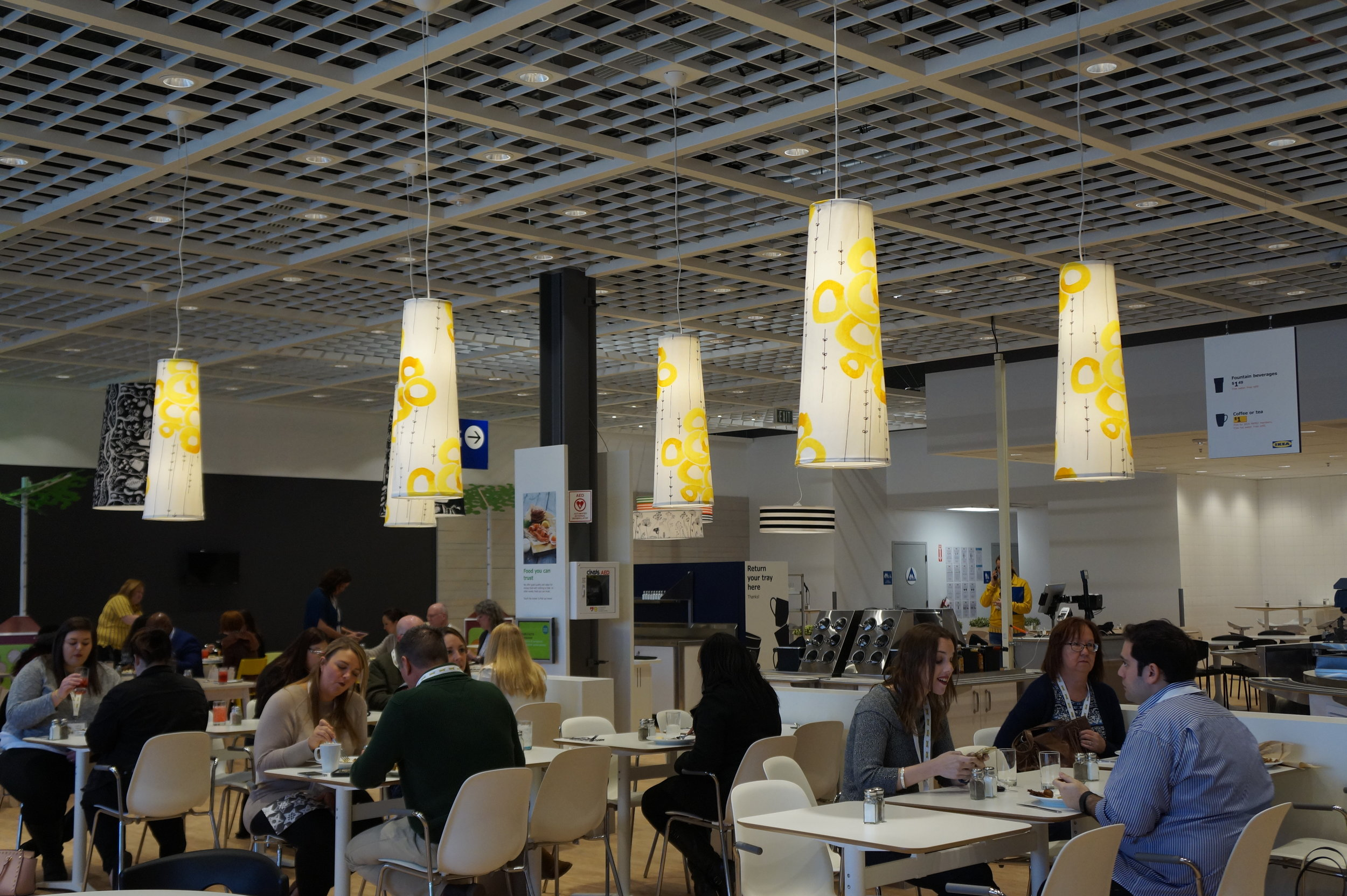 Andrea Fenise visits Ikea Memphis for Media Press Day