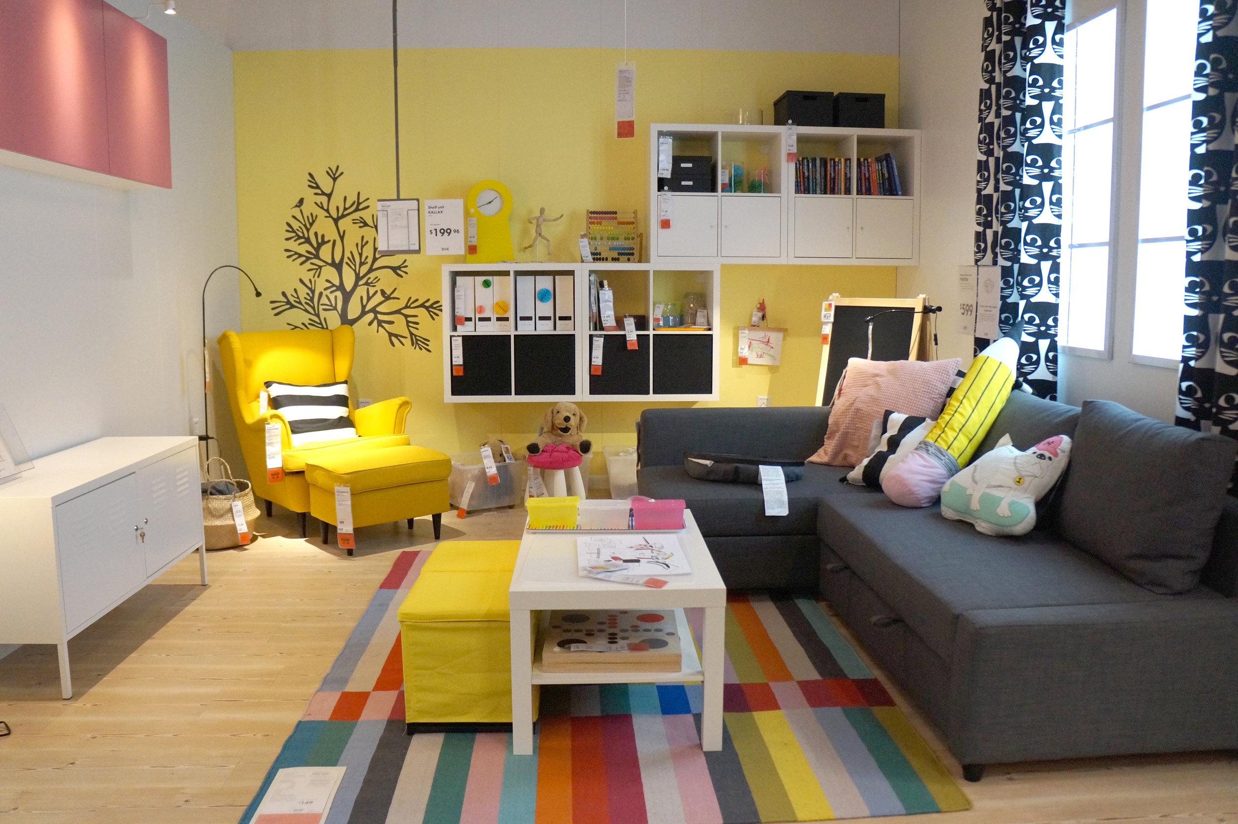 Andrea Fenise visits Ikea Memphis for Media and Press Day as a Memphis blogger
