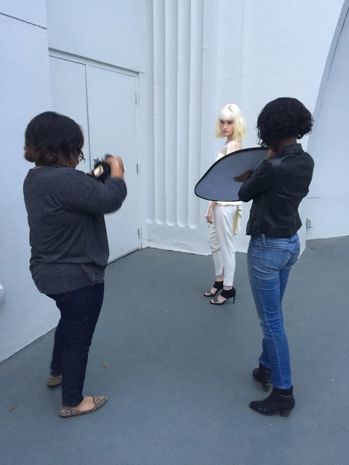 Andrea Fenise, Memphis Fashion Blogger featured in Memphis Fashion Design Ad Campaign
