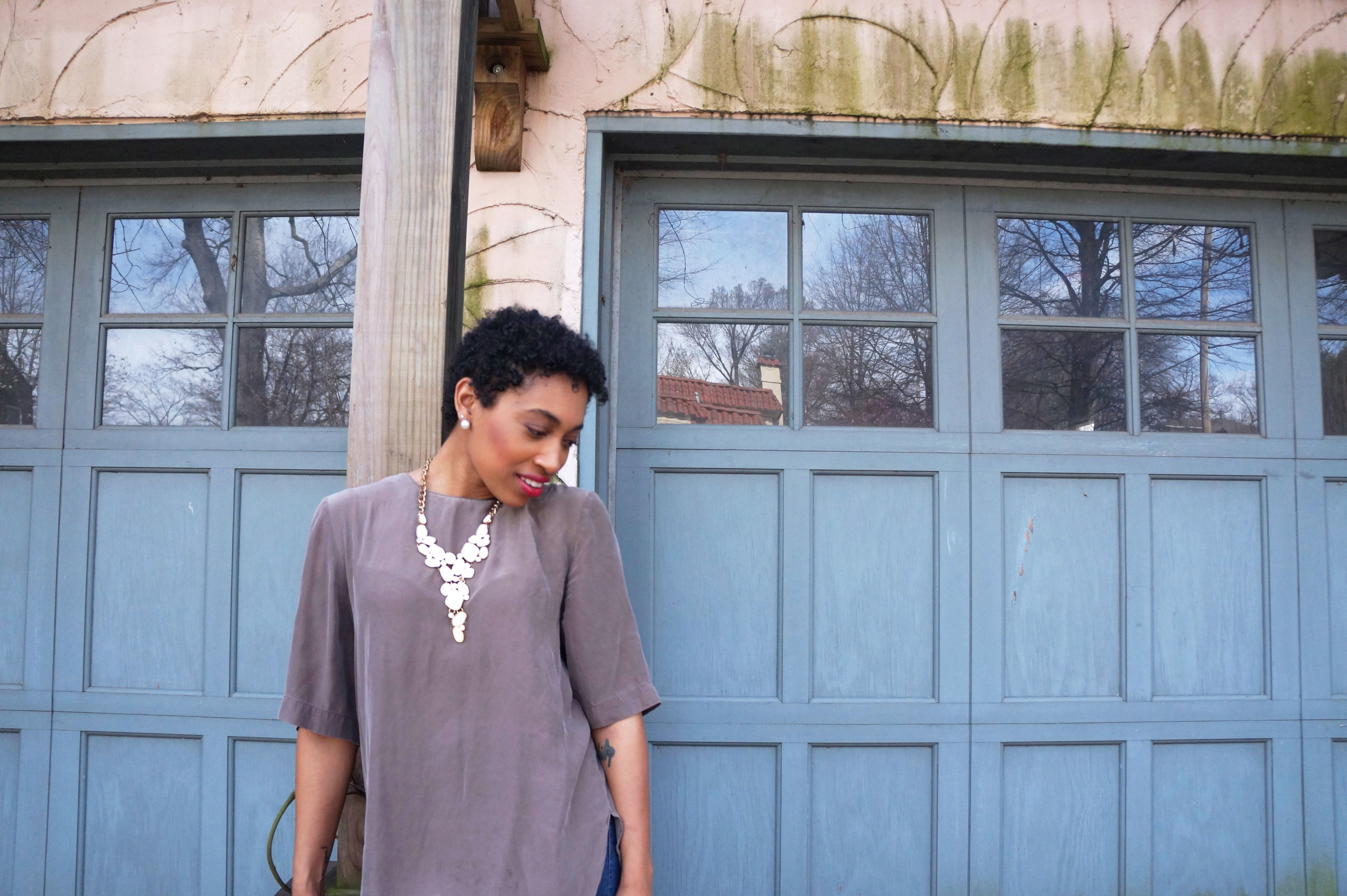 Andrea Fenise Memphis Fashion Blogger How to slow down for spring