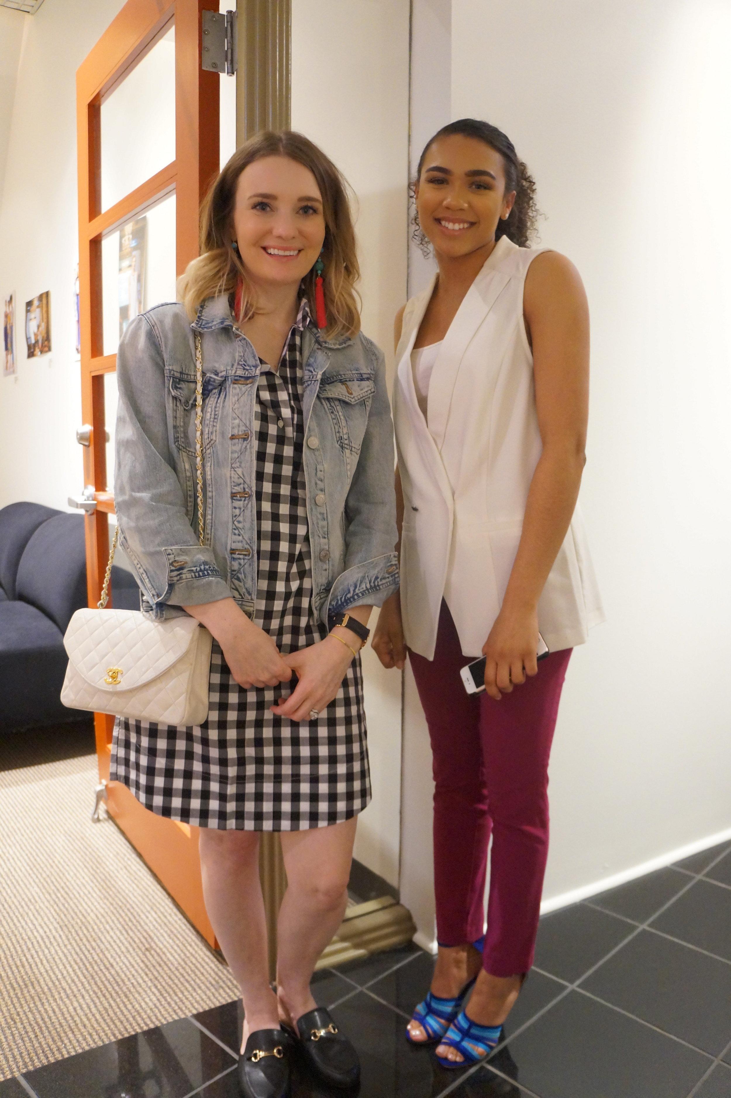 Andrea Fenise covers Memphis Fashion Week's Media Night