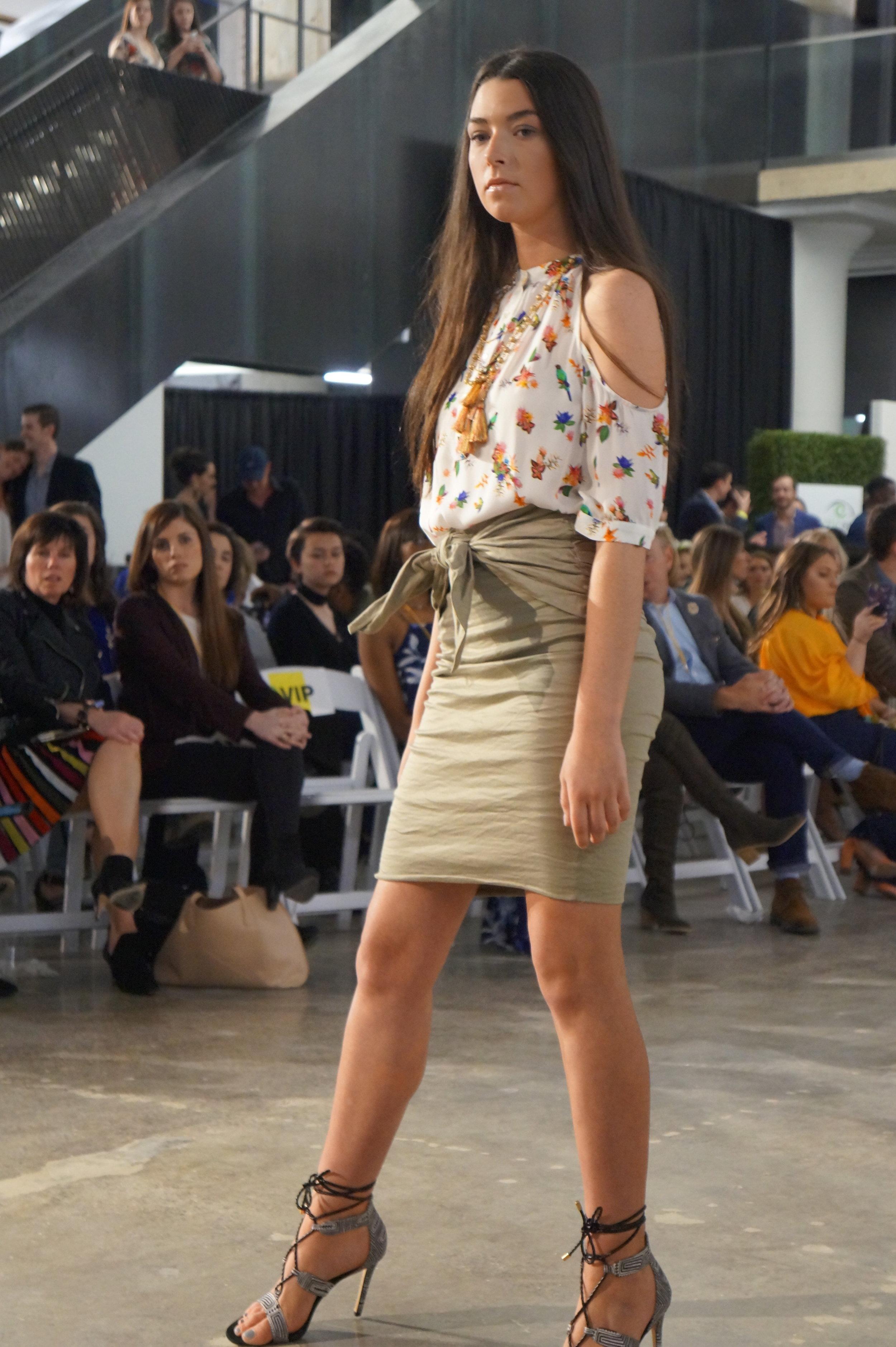 Andrea Fenise Memphis Fashion Blogger shares #memphisfashionweek featured designer's show