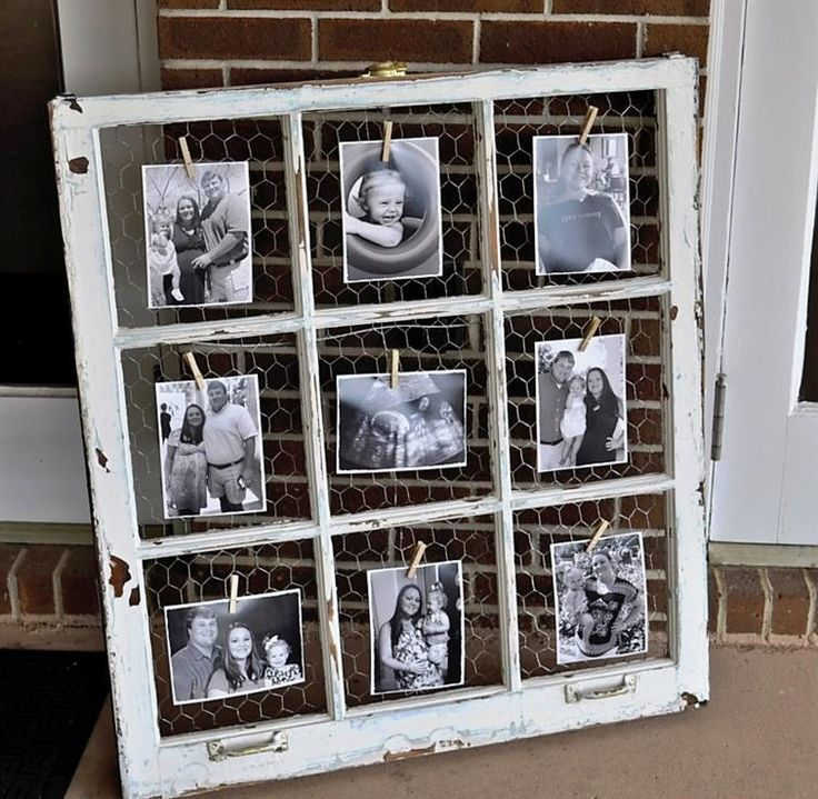 Andrea Fenise Memphis Fashion Blogger shares how to decorate with old window frames