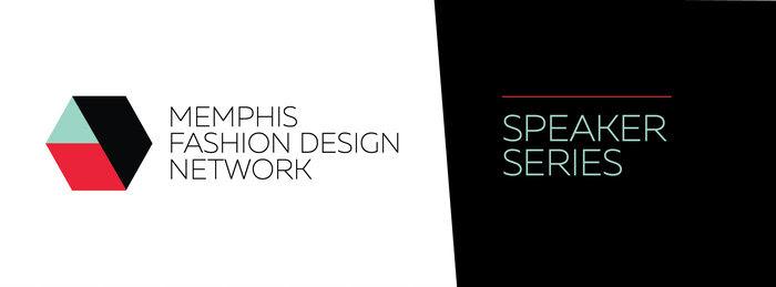 Andrea Fenise Memphis Fashion Blogger speaking at Memphis Fashion Design Network Speaker Series