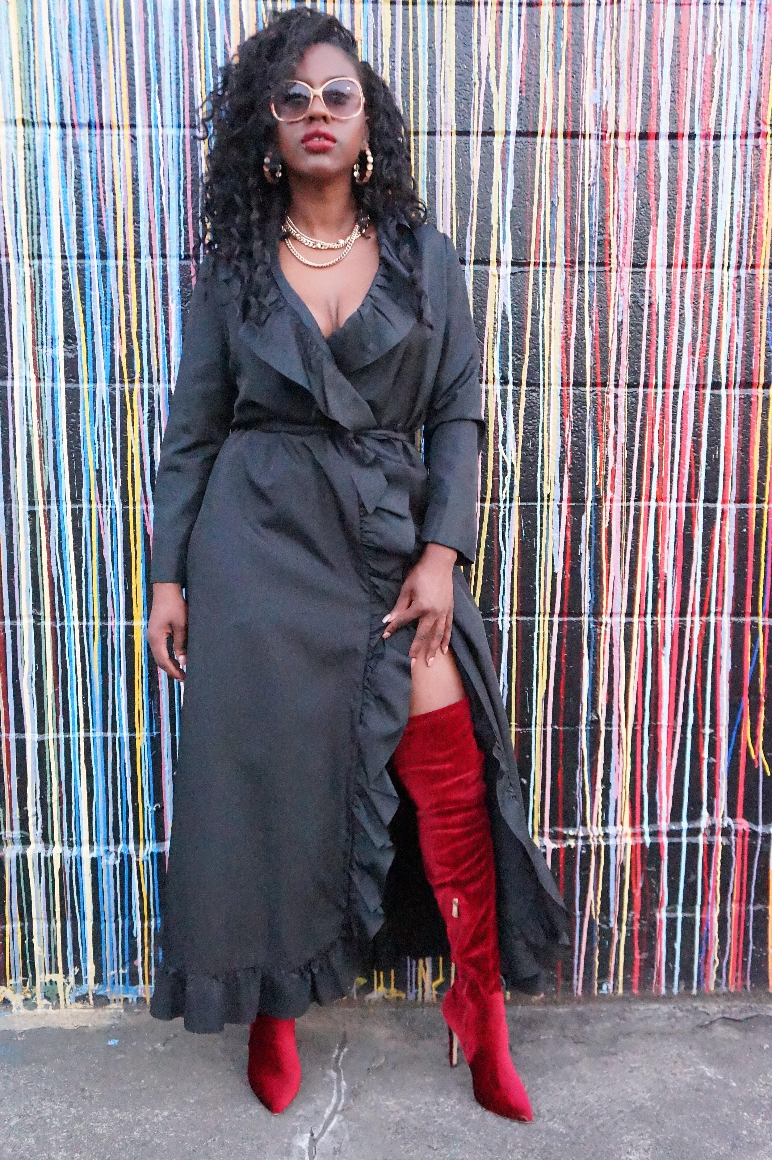 Andrea Fenise Memphis Fashion Blogger shots cover story for The Memphis Flyer