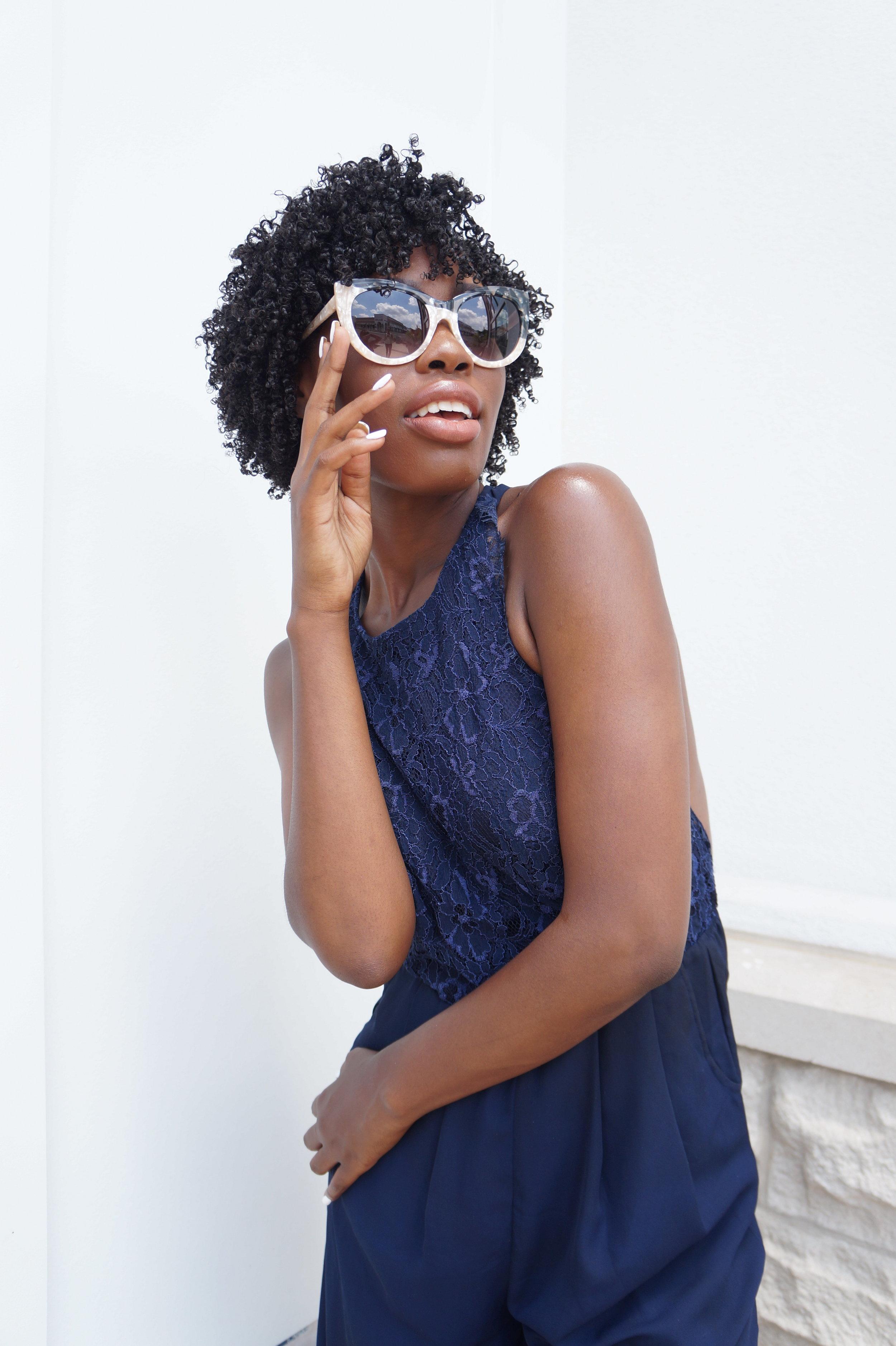 Andrea Fenise Memphis Fashion Blogger shots SEE EYEWEAR brand collaboration