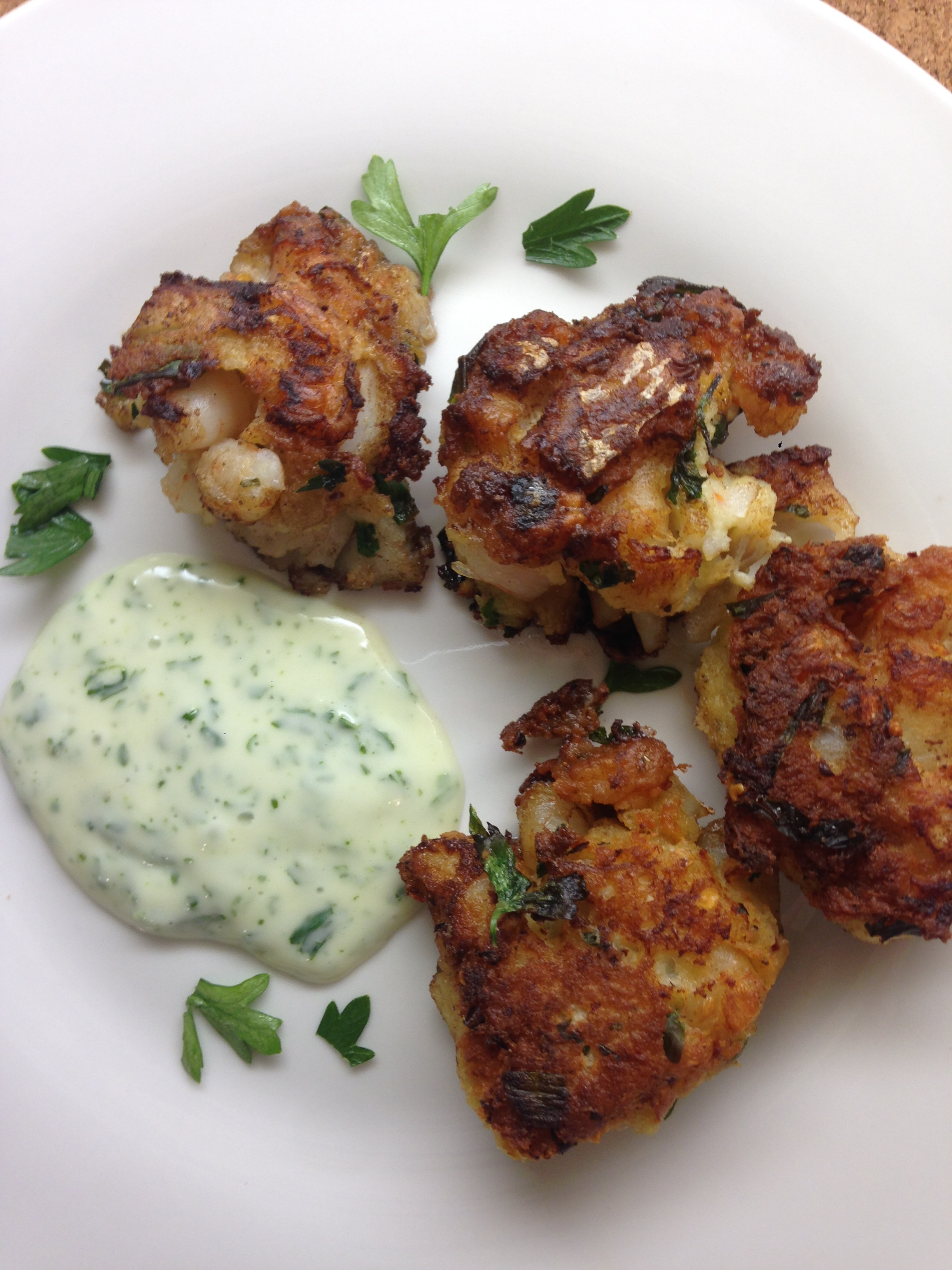 Andrea Fenise Memphis Fashion Blogger shares shrimp and cod cakes recipe
